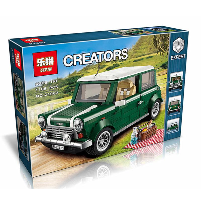 ตัวต่อเลโก้ LEPIN Creators ชุดรถมินิคูเปอร์ 1108 ชิ้น