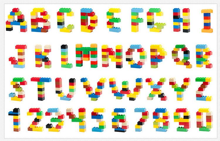 ตัวต่อเลโก้ ต่ออิสระ คละสีคละแบบ 1,000 ชิ้นแถมฟรีแผ่นพื้น 1แผ่น