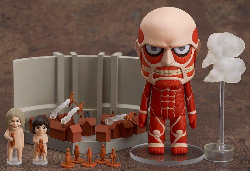 Nendoroid 360 ไททัน Colossus Titan Attack Playset