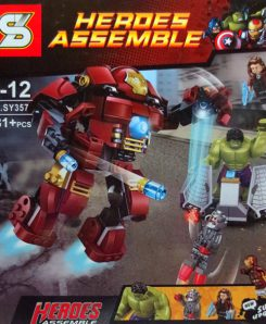เลโก้ Super Heroes The Avengers The Hulkbuster Smash