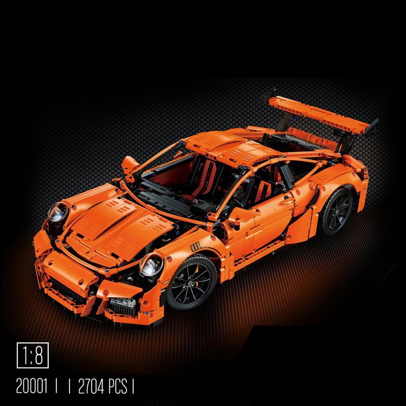 ตัวต่อ Decool Technic รถ Porsche 911 GT3 RS 2,758 ชิ้น
