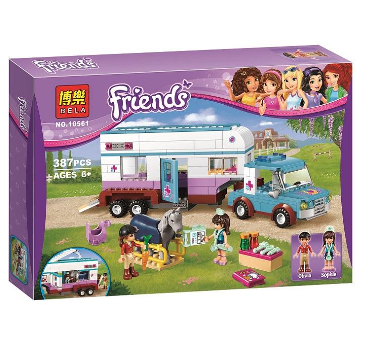 เลโก้เฟรนด์สัตวแพทย์เคลื่อนที่ Lego Friends Horse Vet Trailer