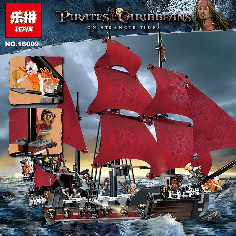 LEGO Pirates of the Caribbean Queen Anne Revenge ตัวต่อเรือควีน แอนน์ส รีเวนจ์