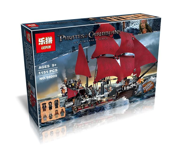 LELE Pirates of the Caribbean Queen Anne Revenge ตัวต่อเรือควีน แอนน์ส รีเวนจ์