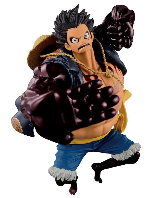แท้HK ลูฟี่เกียร์ 4 Banpresto SCultres One Piece Luffy Gear 4th