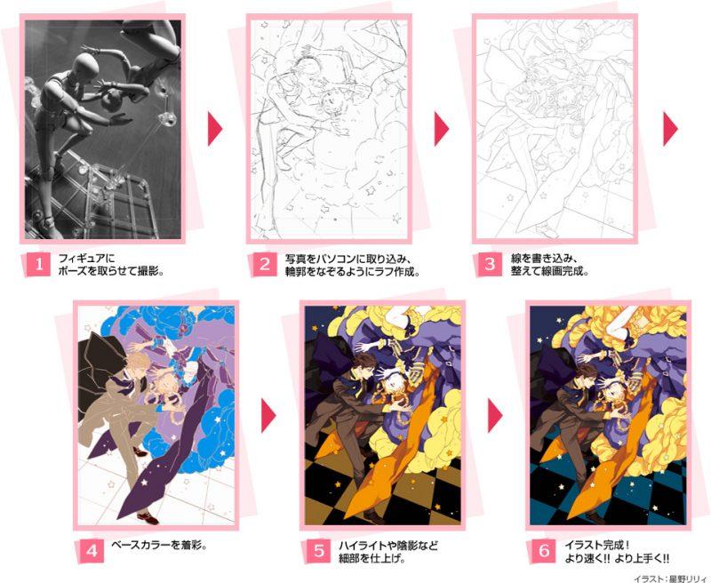 SHFiguarts โมเดลหุ่นวาดรูป Body Chan และ Body Kun DX Set สีเทา