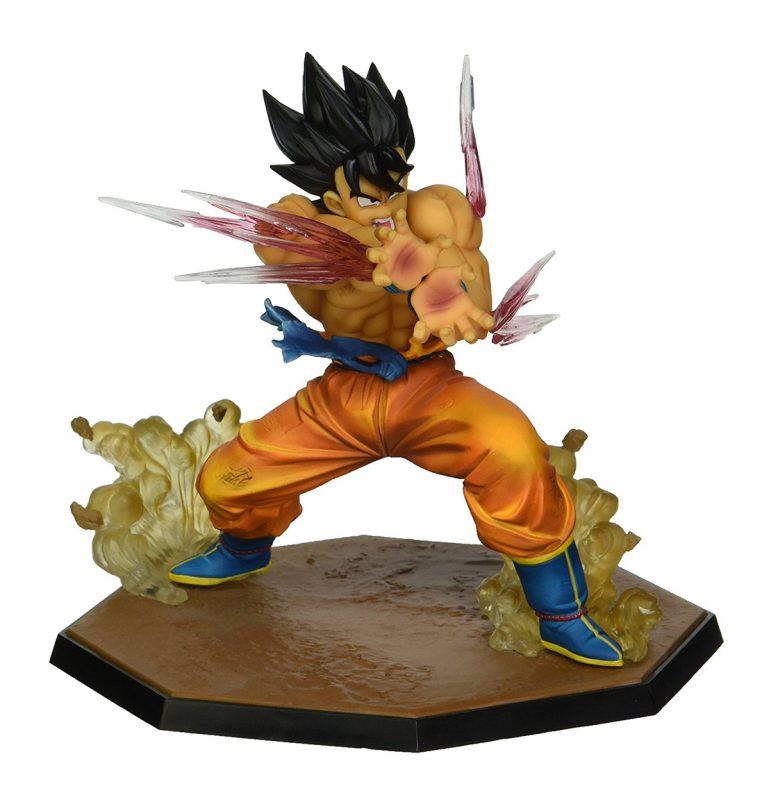 โมเดลโกคูพลังคลื่นเต่า Figuarts Zero Goku Kamehameha