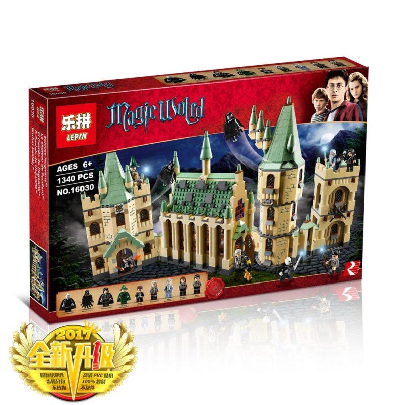 LEPIN Harry Potter Hogwarts Castle V2 ตัวต่อแฮรี่พอตเตอร์ ปราสาทฮอกวอตส์ชุด2