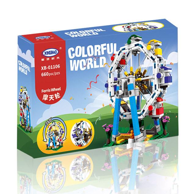 Toysanime Ferris Wheel ตัวต่อชิงช้าสวรรค์