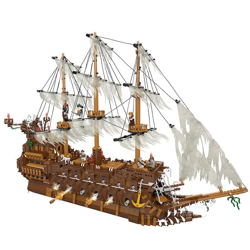 LEPIN Pirates of the Caribbean Flying Dutchman ตัวต่อเรือฟลายอิงดัตช์แมน