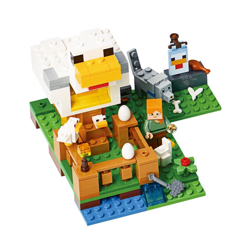 ตัวต่อมายคราฟชุดฟาร์มไก่ SY LEPIN Minecraft the Chicken Coop
