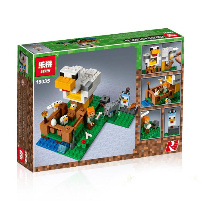 ตัวต่อมายคราฟชุดบ้านไก่ SY LEPIN Minecraft the Chicken Coop
