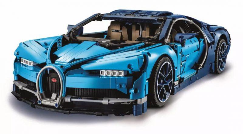 Decool Technic ตัวต่อรถซุปเปอร์คาร์บูกาติ Bugatti Chiron