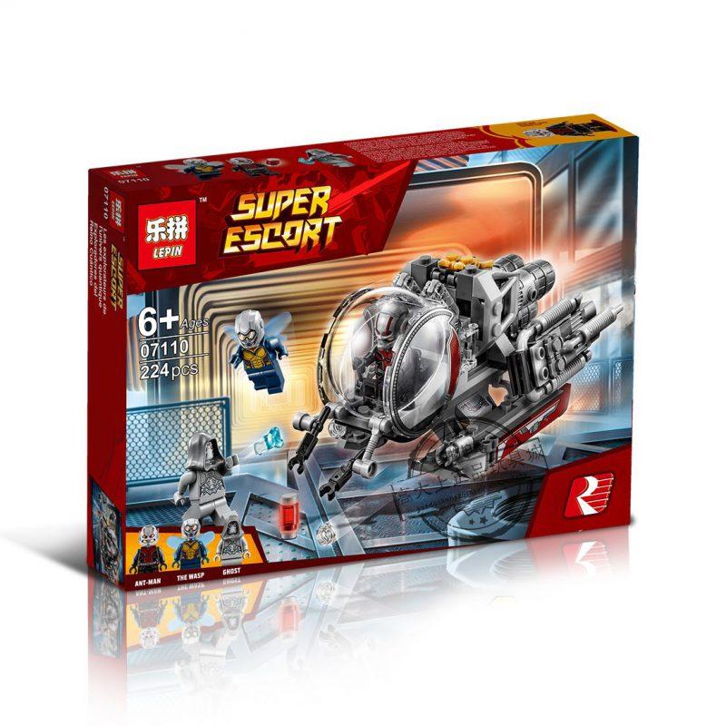 SY Lepin ตัวต่อยาน Ant Man Quantum Realm Explorers