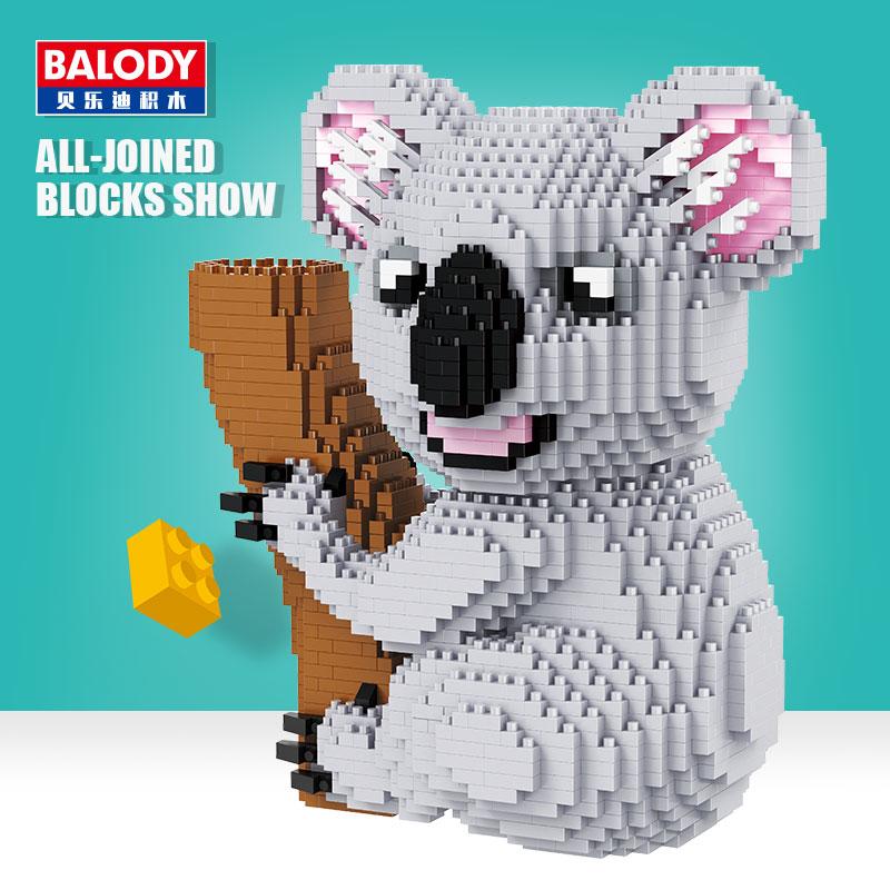 ตัวต่อนาโน หมีโคอาล่า Koala bear Nano Block