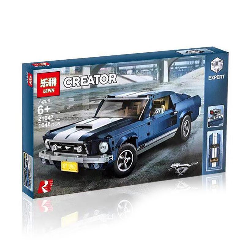 LEPIN Creator ตัวต่อรถซุปเปอร์คาร์ Ford Mustang GT