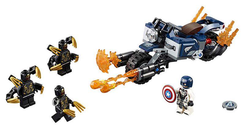 LEPIN ตัวต่อชุดฮีโร่อเวนเจอร์ Avengers Captain America Outriders Attack